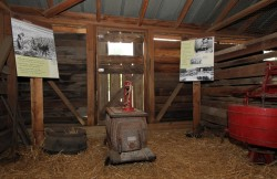 Inside Weathervane Barn