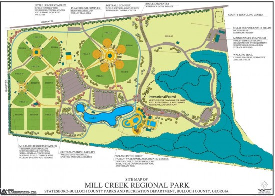 Mill Creek Regional Park Map
