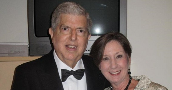 Carol with Marvin Hamlisch