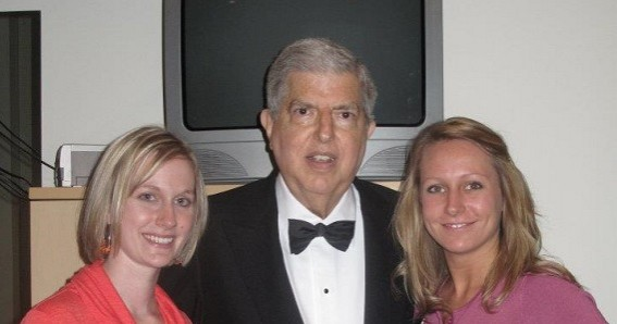 Girls with Marvin Hamlisch