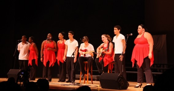 Show Choir on Stage
