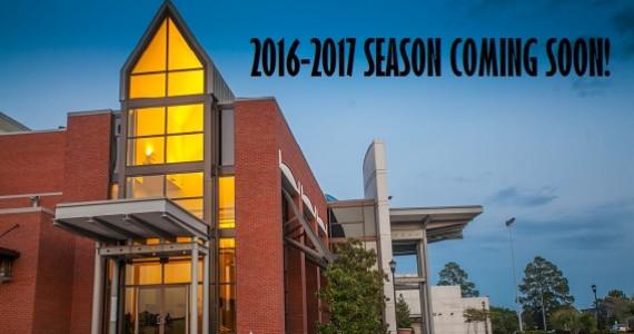 2016-2017 Season Coming Soon