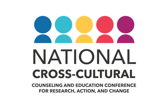 Logo for the National Cross-Cultural Counseling and Education conference to give the page context