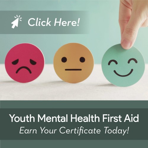 Youth MHFA Site Slide