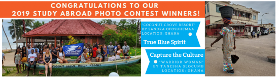 Congratulations to our 2019 Study Abroad Photo Contest Winners!