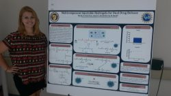 Mattie Braselton presents her research at Vanderbilt.