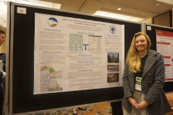 Shelby Herrin presents her work at the 20th annual Graduate Education and Graduate Student Research Conference in Hospitality and Tourism at the University of South Florida.