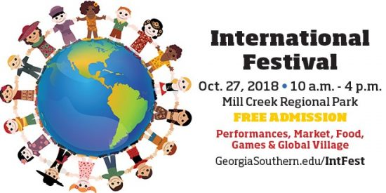 International Festival is coming up!<br /> Saturday October 27 from 10:00am-4:00pm at Mill Creek Regional Park<br /> Free admission