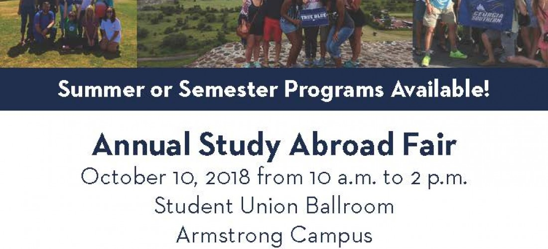 Study Abroad Fair Flyer-Armstrong