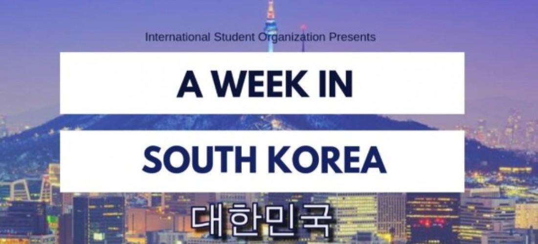 A Week In South Korea
