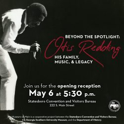 Otis Redding Exhibit @ Museum on Main
