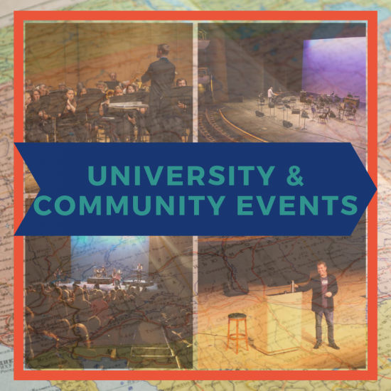 University & Community Events