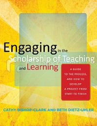 Book Cover of Engaging in the Scholarship of Teaching and Learning