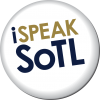 I speak SoTL logo
