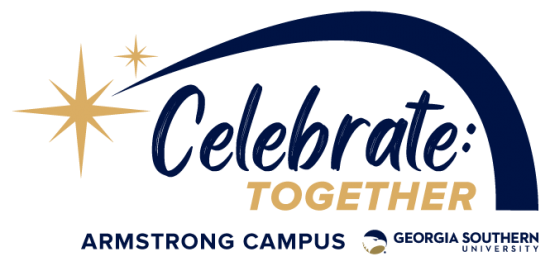 celebrate together logo armstrong campus georgia southern university